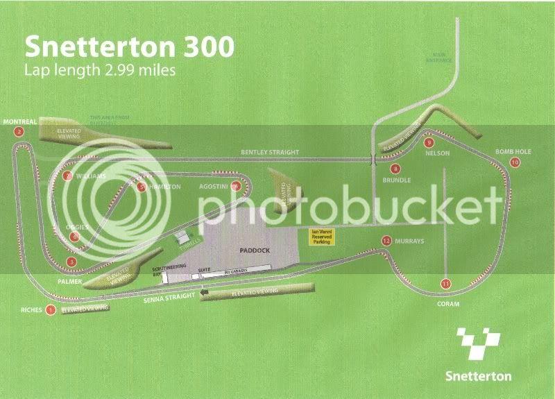 Classic Sports Car Championships, Snetterton 300: 14-15 Apr 2012 Parking