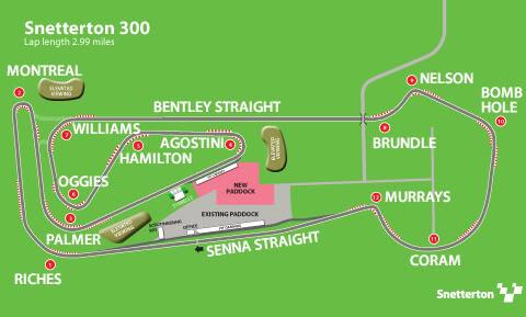 Classic Sports Car Championships, Snetterton 300: 09-10 Apr 2011 Snetterton300circuitNAMES