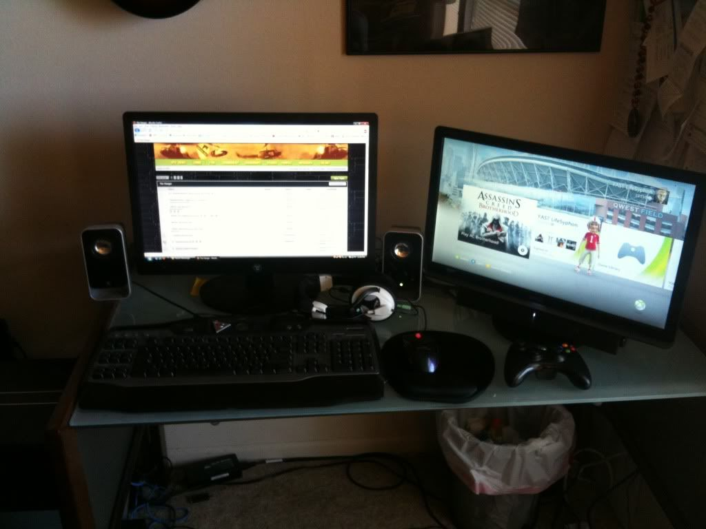 Your gaming setup!  Photo