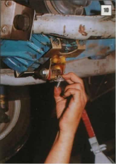 Instalación de Barra de Tracción 10