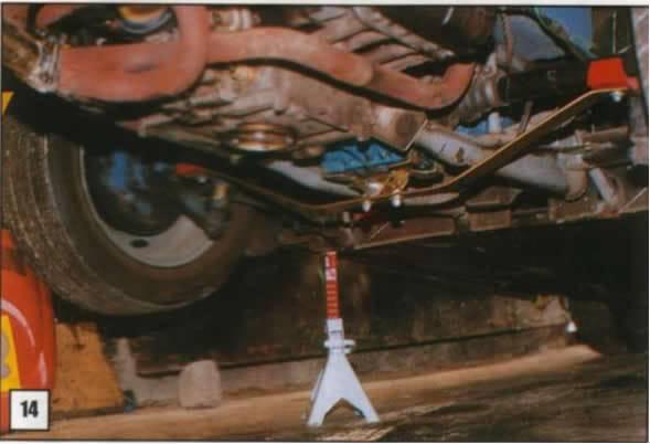 Instalación de Barra de Tracción 14