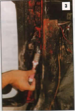 Reparación de postes de puertas 03