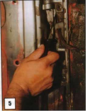 Reparación de postes de puertas 05
