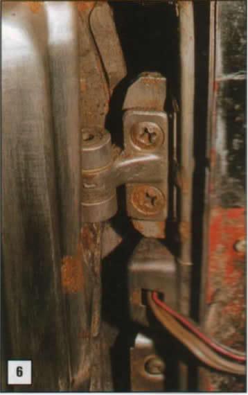 Reparación de postes de puertas 06