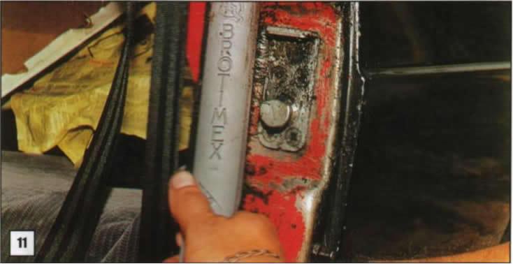 Reparación de postes de puertas 11
