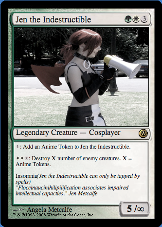 Magic the Gathering: Cosplay Stampede booster pack Picture17