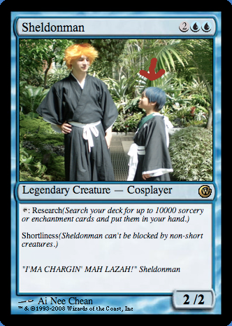 Magic the Gathering: Cosplay Stampede booster pack Picture20-1