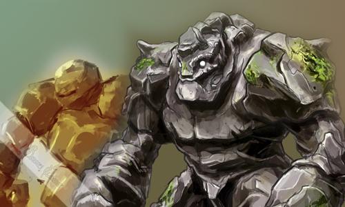 Libro de las Bestias Golem