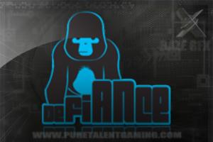 some logos i made Defiance