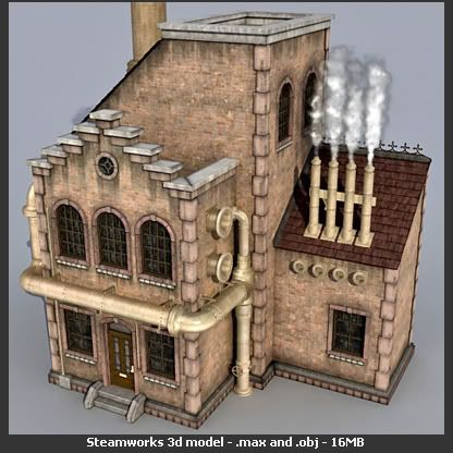3D Architecture Model Untitled-1