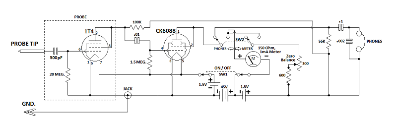 Superior CA-11 Signal Tracer CA-11withboostertube-Copy_zpsbff1230a