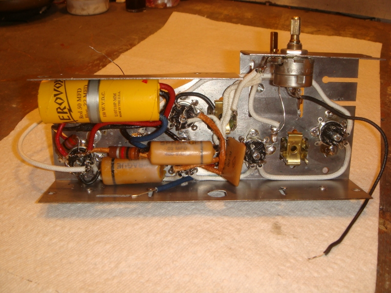 Chassis up rebuild on Stewart Warner tabletop 5 tube SW-13_zps00ad2e66