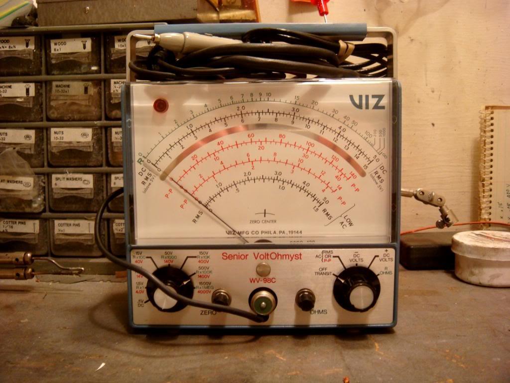 My new/old VIZ Voltohmyst WV-98C_zps6b4b4ef0