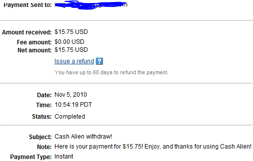 My Payments Thread (Updated - 12/23/10) Anotherpayment