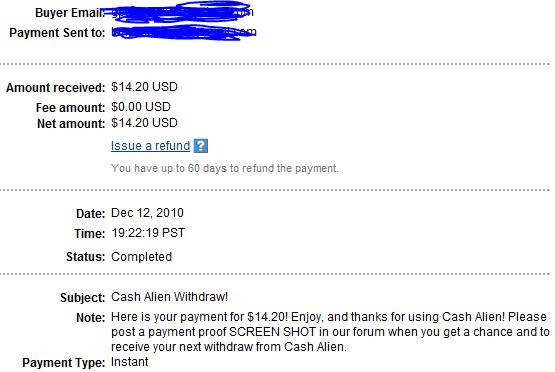 My Payments Thread (Updated - 12/23/10) Asdadad