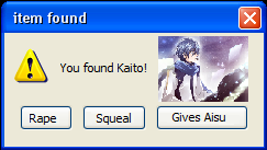 The You Get Game! YoufoundKaito