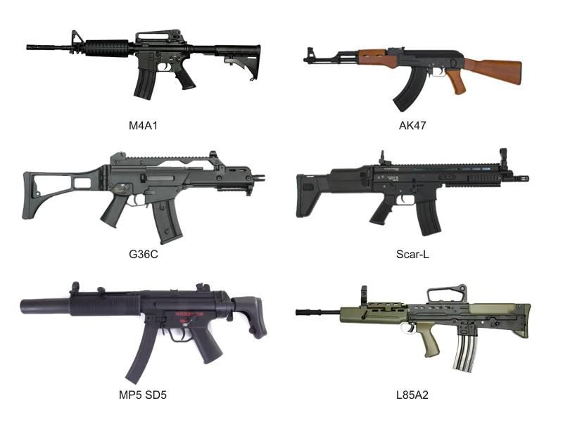 Modelos de AEG'S Armaslongas2
