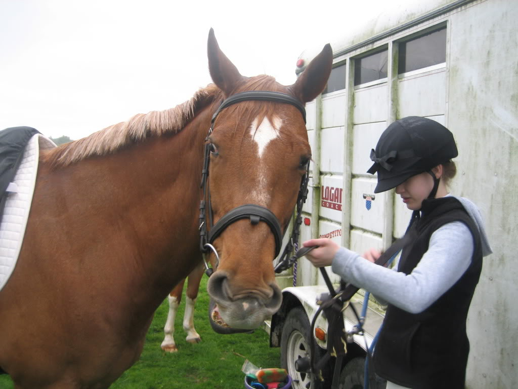 Shally and I at our first Dressage Show! IMG_1860