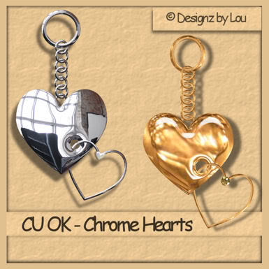 Valentine Heart Charms - By: Designz By Lou PREVIEW