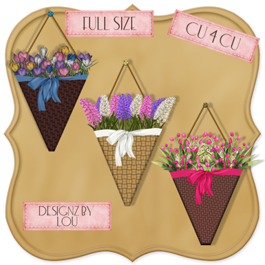 Hanging Flower Pots (Designs By Lou) Dbl_preview