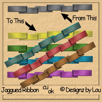 Jaggered Ribbons - By: Designz By Lou Layout-1