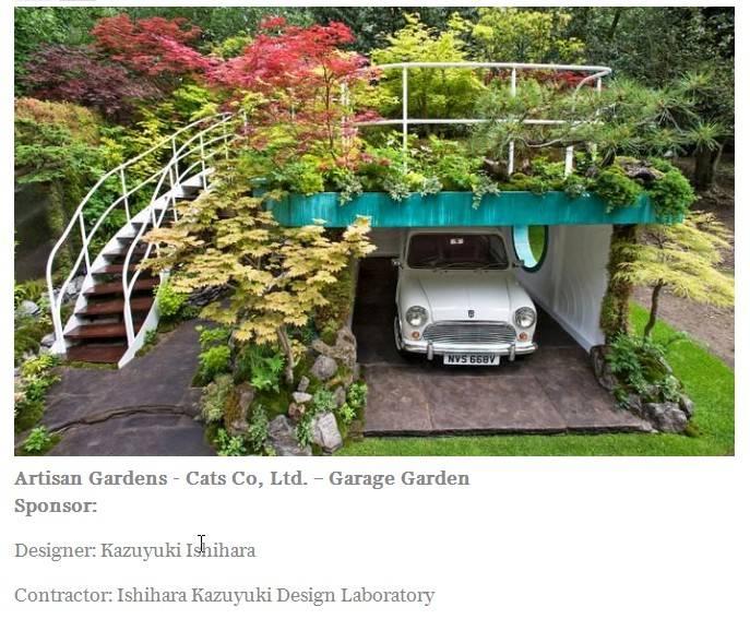 Mini Garage Garden at 'Chelsea Flower Show' Chelsea%20Flower%20Show%20Mini%202016_zpsnjykjjf4