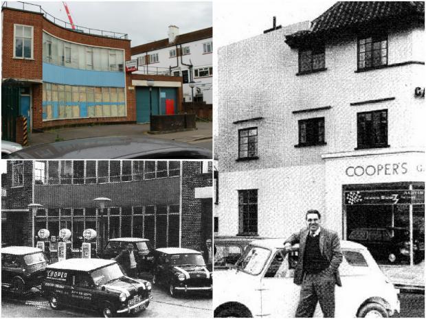 The Cooper Works later The Traffic Police Garage In Surbiton, Surrey Mini%20garage%20surbiton_zpsbdrexwnu