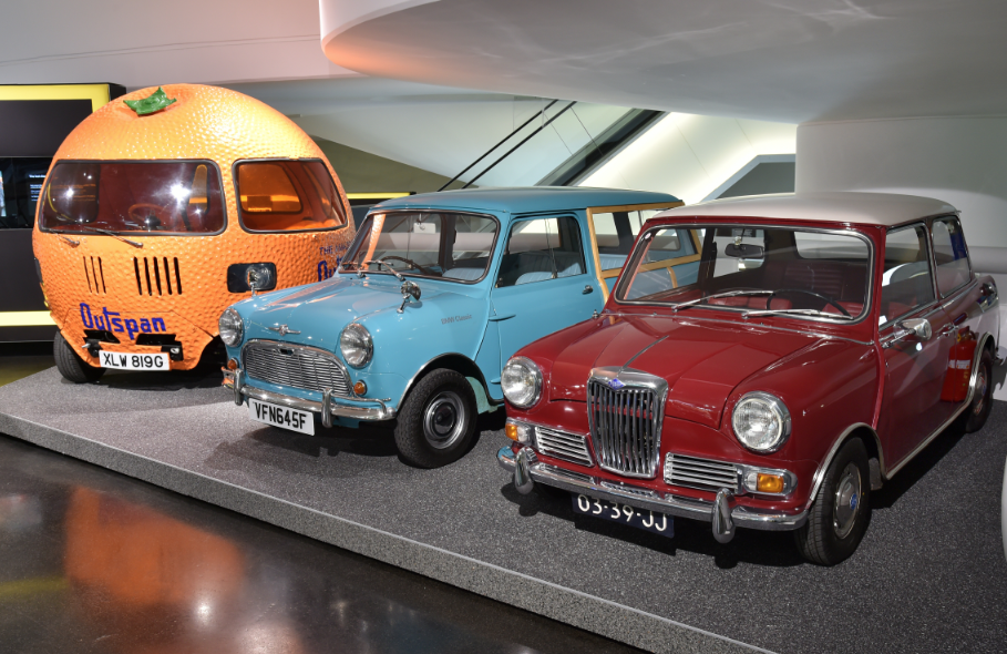 The MINI Story at the BMW Museum MiniexpositionBMWMuseum1_zpse8f40a99