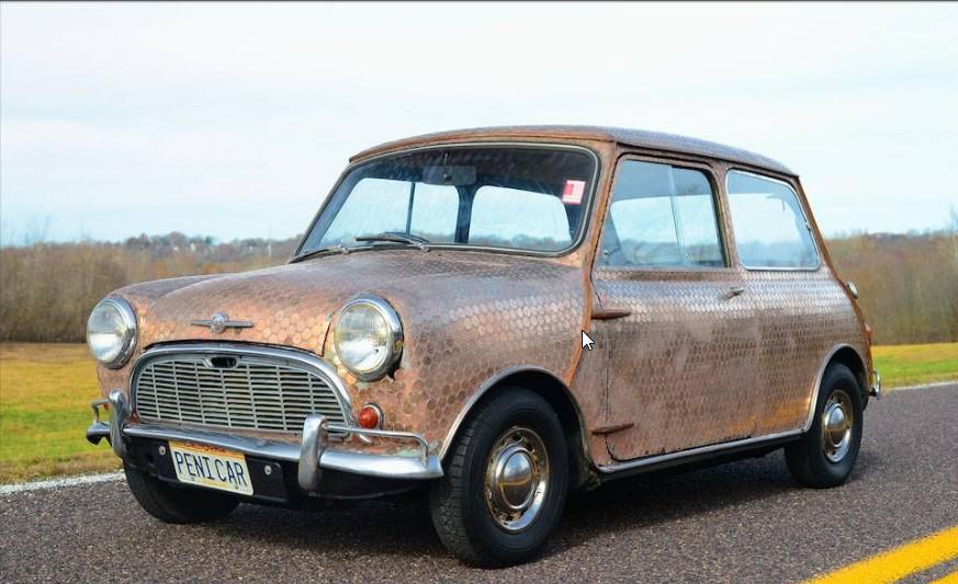 1963 Morris Mini Minor 'Penny Car' Penny-Mini_zps00b72510