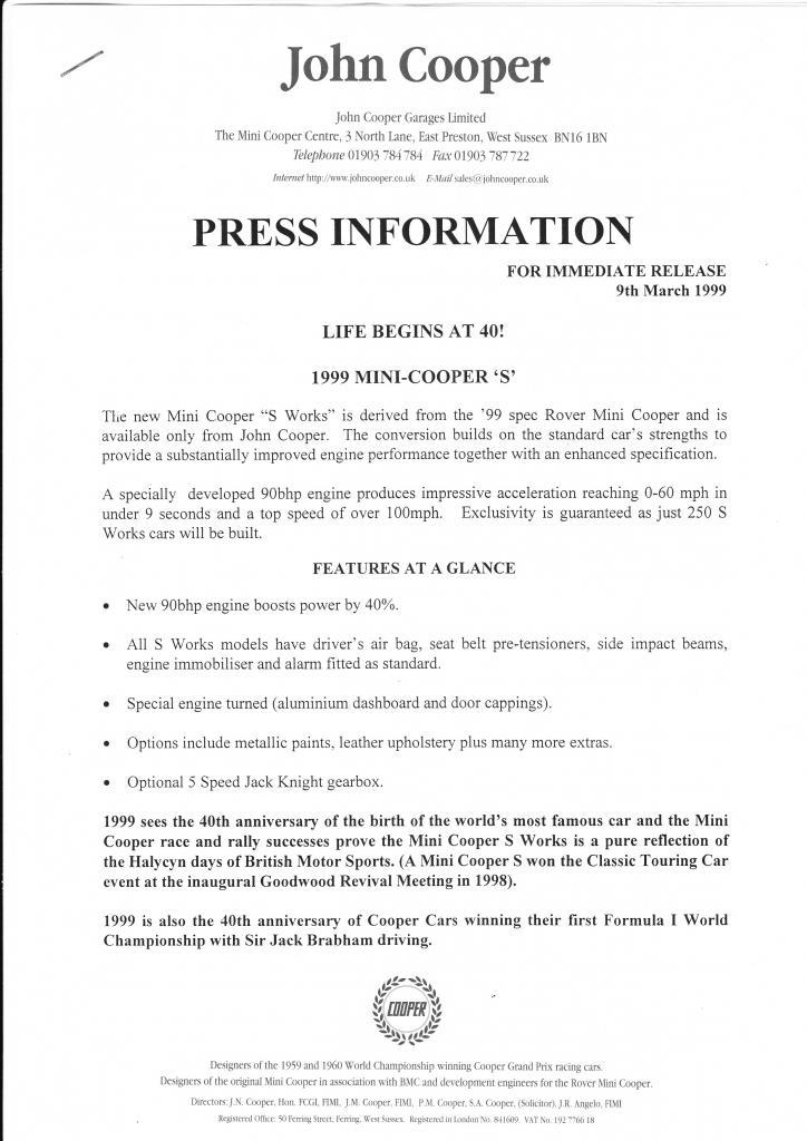 Mini Cooper S Works - 1999 Press Release & Price List S-works-1_zpsd8ed76dc