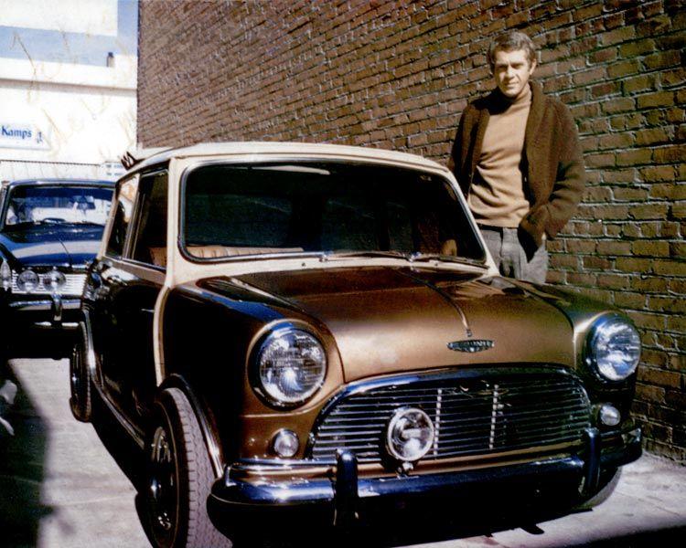 Steve McQueen's Mini Cooper S Steve_McQueen_1967_mini_cooperfront_profile_view_zpsd44ce215