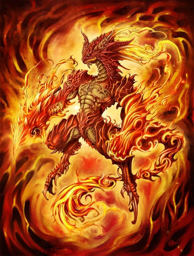 Eragon - Elder Dovah Summon Fire