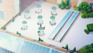 Another relaxing area except for the Cafeteria. RoyalSocialClubbackofthebuilding-1