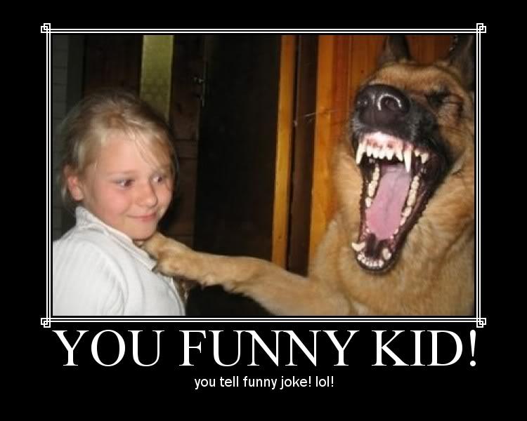 HAHAHA Funny Pic Thread Funny-kid-tells-joke-to-dog1