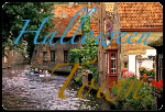 Halloween Town Casas-junto-al-canal-en-brujas-belgica-1