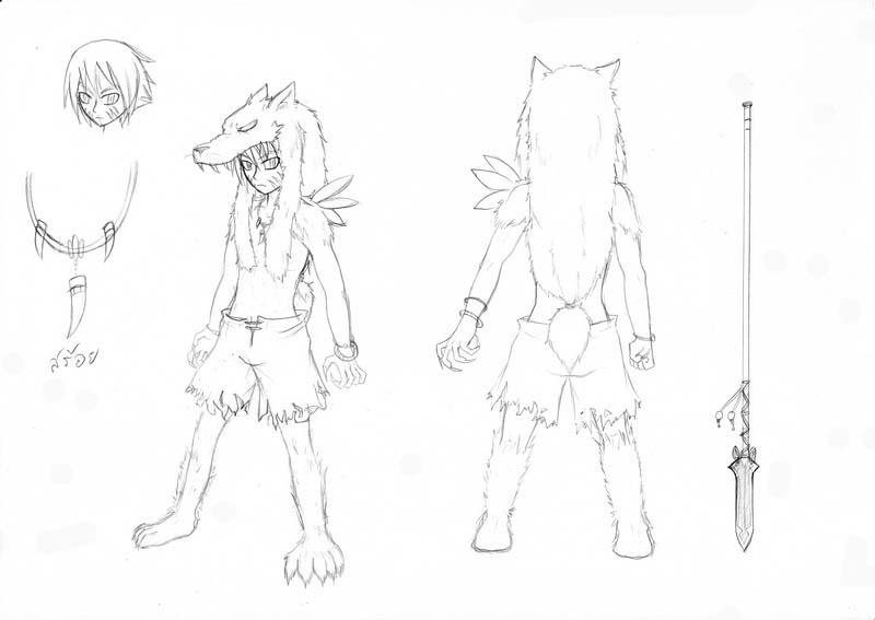 "[Character CF2.5] Zeron หมาป่าโดดเดี่ยว (ค้างอินโทร""ชั่วคราว"") Zeron_detail"