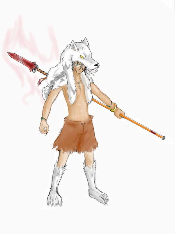 "[Character CF2.5] Zeron หมาป่าโดดเดี่ยว (ค้างอินโทร""ชั่วคราว"") Zeroncolored"