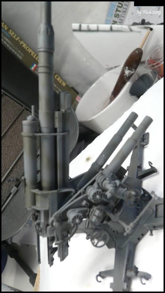 [DRAGON] 88 mm Flak 36/37 - 1:35 mise à jour 16/09/09...peinture terminé ,ruine d'église terminé pour dio... Flak_36_37_dio015