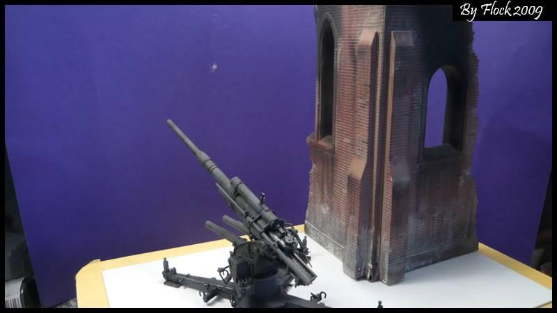 [DRAGON] 88 mm Flak 36/37 - 1:35 mise à jour 16/09/09...peinture terminé ,ruine d'église terminé pour dio... Flak_36_37_dio020