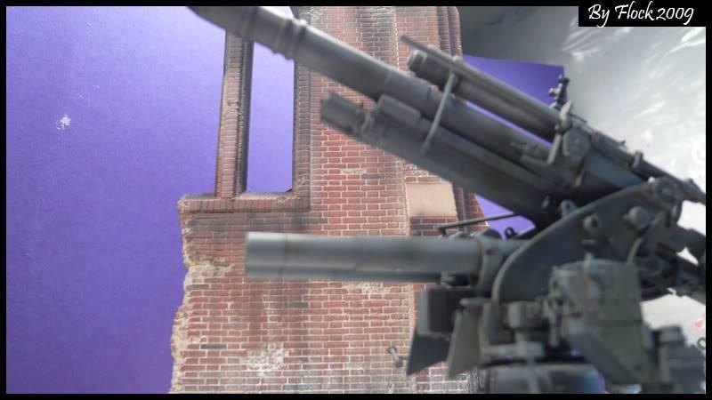 [DRAGON] 88 mm Flak 36/37 - 1:35 mise à jour 16/09/09...peinture terminé ,ruine d'église terminé pour dio... Flak_36_37_dio028