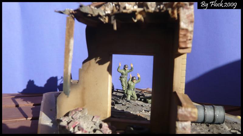 [DIORAMA] ...1945: wir kapitulieren...1:35... Surrender010