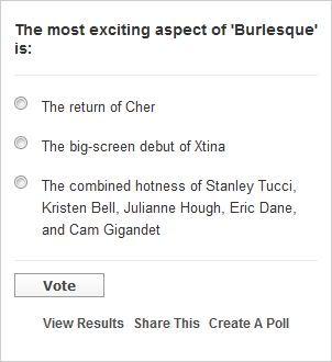 Vota por xtina en Burlesque 00-5