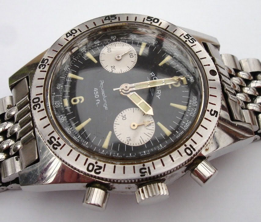 ROTARY - Rotary chrono Aquaplunge 450ft  (1960) 551836919_o