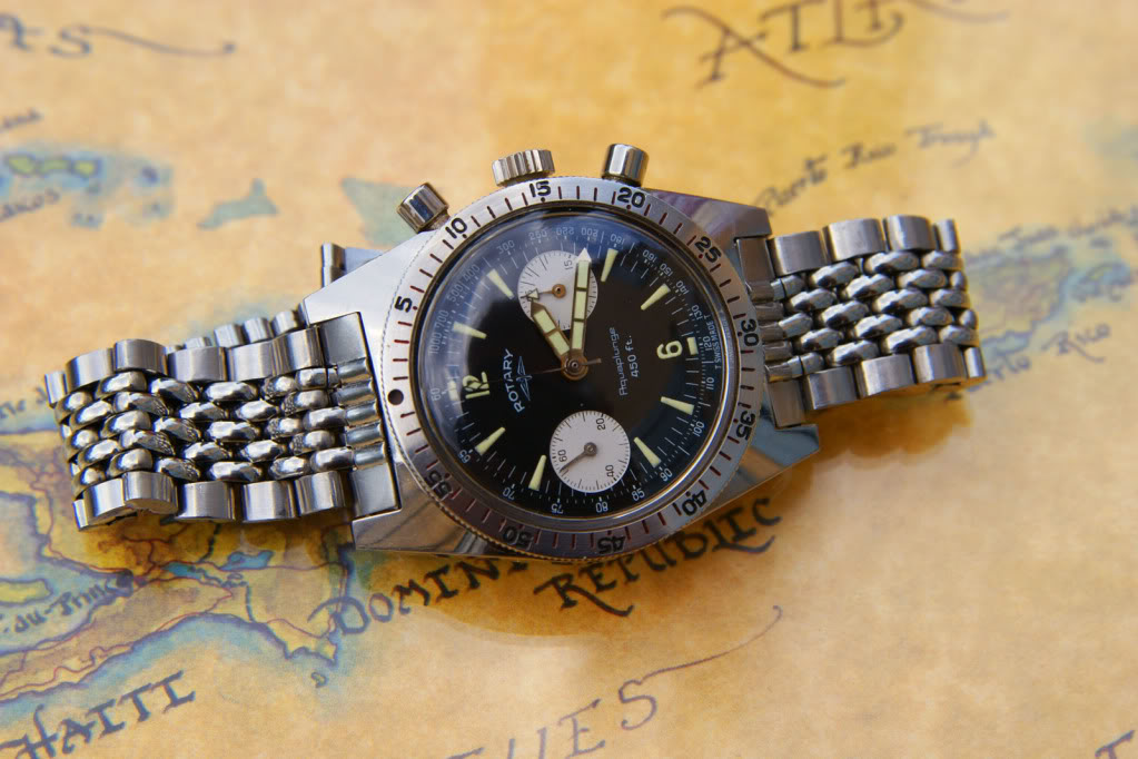 ROTARY - Rotary chrono Aquaplunge 450ft  (1960) DSC09008