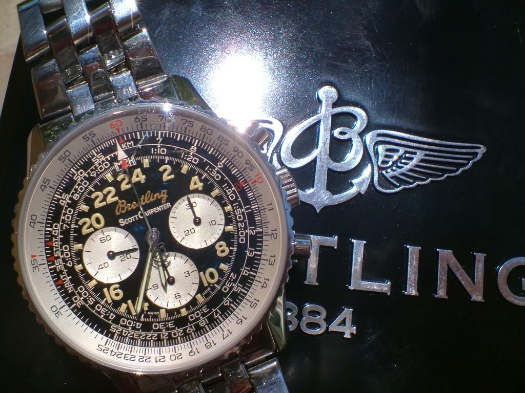 Feu de Breitling Navitimer DSCF1700