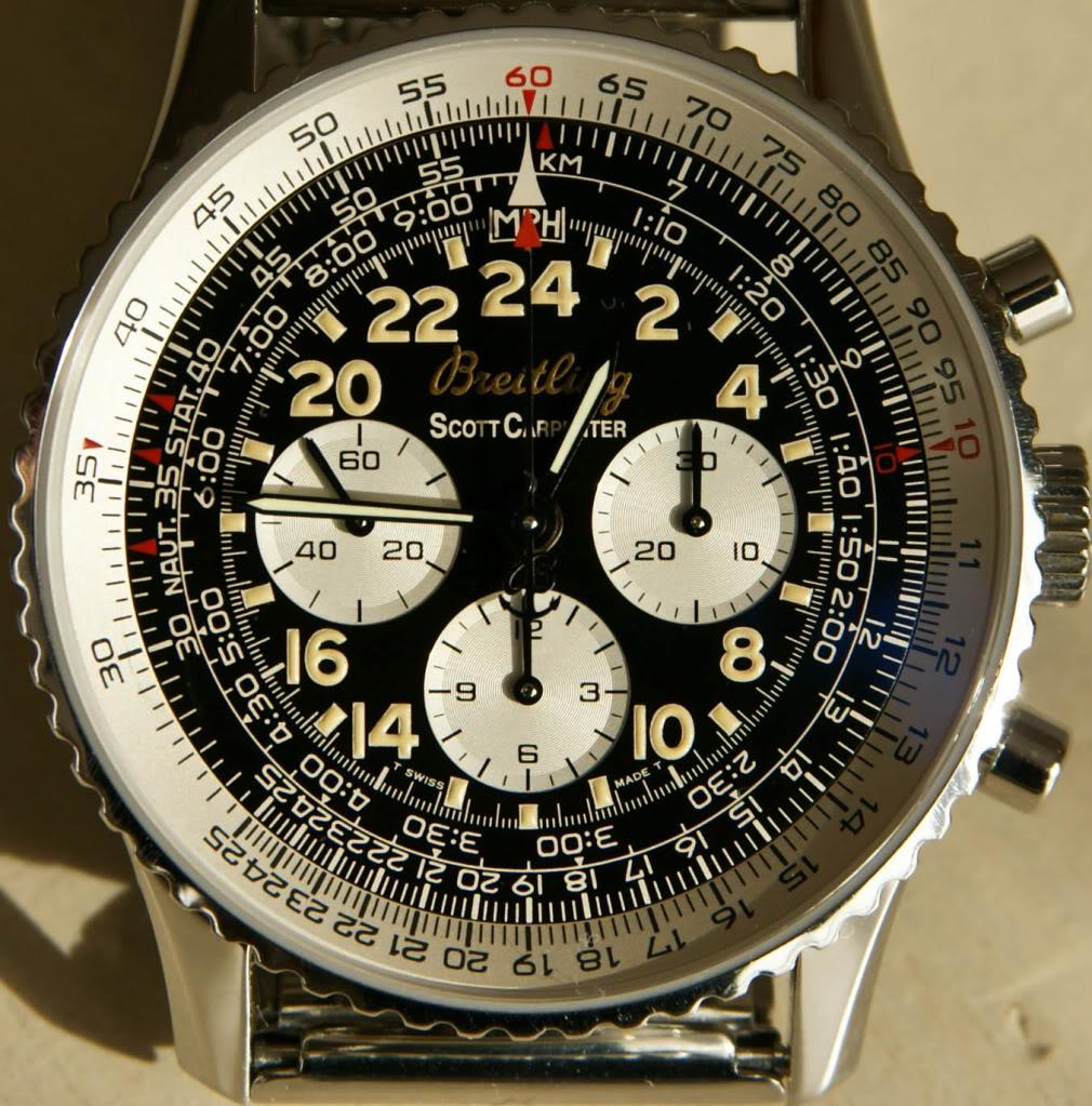 J'ai craqué pour une lecture 24h et fly back... Breitling cosmonaute inside _-183