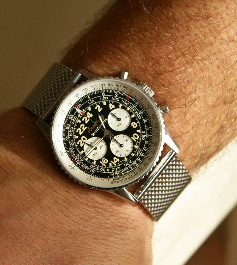 J'ai craqué pour une lecture 24h et fly back... Breitling cosmonaute inside _-188