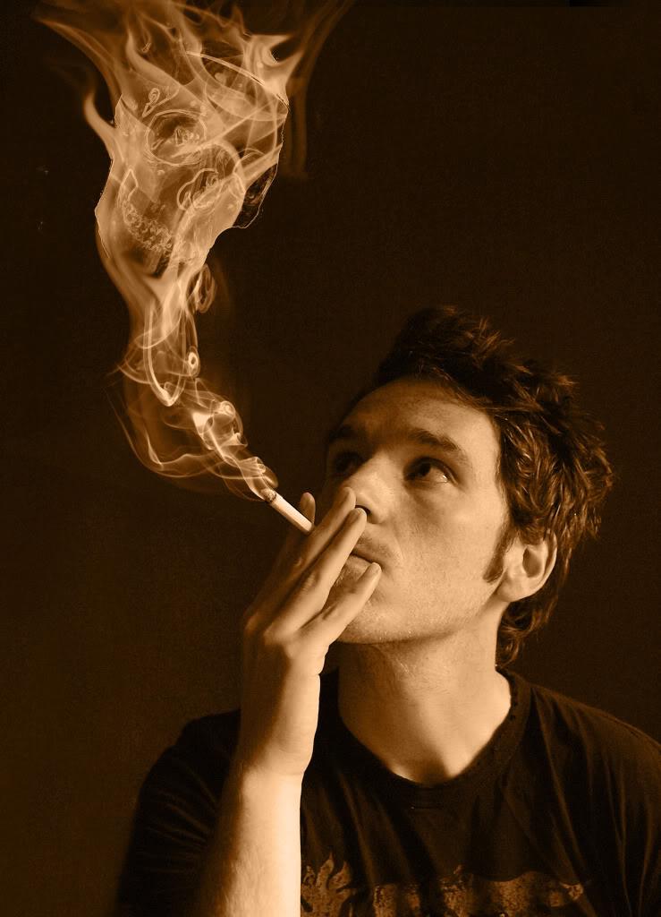 una muestra de lo que he hecho Fumador