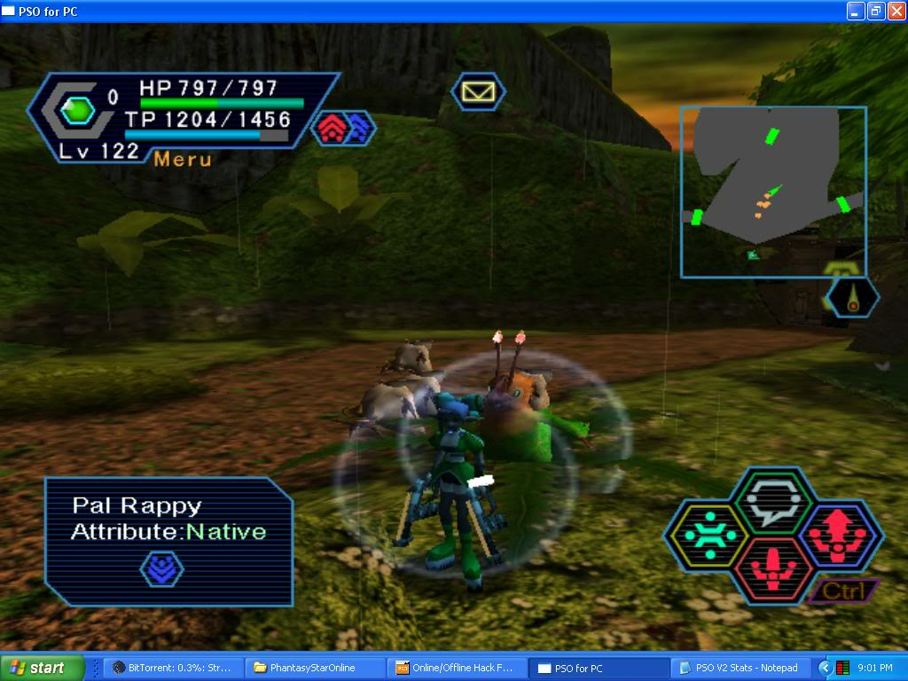 PSO PC/ V1&V2 Screenshot Gallery! - Page 5 PalRappySighting
