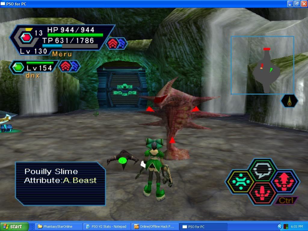PSO PC/ V1&V2 Screenshot Gallery! - Page 5 RedSlime